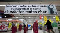 Entrée d'un supermarché le 21 février 2012 au Mans  [Jean-Francois Monier / AFP/Archives]