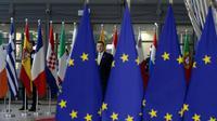 Le Premier ministre estonien Juri Ratas à Bruxelles le 13 décembre 2018 [Aris Oikonomou / AFP]