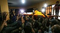Funérailles dans le sud de Gaza le 2 novembre 2019 d'un jeune gazaoui Ahmed al-Shahri, tué par les raids de l'armée israélienne [SAID KHATIB / AFP]