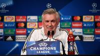 L'entraîneur Carlo Ancelotti; le 26 septembre 2017 à Paris [CHRISTOPHE SIMON / AFP/Archives]