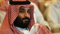 Le prince héritier saoudien Mohammed ben Salmane, à Ryad, le 23 octobre 2018  [FAYEZ NURELDINE / AFP/Archives]