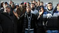 Manifestation le 22 janvier 2016 à Kasserine [MOHAMED KHALIL / AFP]