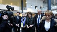 La ministre de la Santé Marisol Touraine à l'hôpital Pontchaillou à Rennes le 15 janvier 2016 [DAMIEN MEYER / AFP]