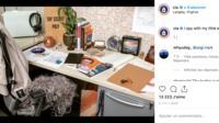 La CIA n'a pour l'instant publié qu'une photo sur le réseau social, dans un décor très vintage.