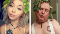 Le père et sa fille, très complices, n'hésitent pas à se moquer l'un de l'autre.