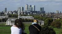 Le quartier d'affaires de la City, à Londres, pourrait se retrouver privé de milliers d'emplois.