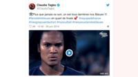 L'humoriste Clauda Tagbo a encouragé elle aussi l'équipe de France sur Twitter.