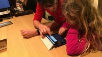 Plusieurs milliers d'enfants ont suivi la formation en France comme ici à l'Apple Store Opéra.