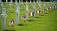 Le cimetière américain de Colleville-sur-Mer accueillera une imposante cérémonie d'hommages aux soldats du débarquement.