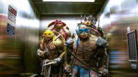 """Michelangelo, Raphael, Leonardo et Donatello dans """"Ninja Turtles"""" de Jonathan Liebesman."""