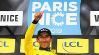 A seulement 22 ans, Egan Bernal est devenu le plus jeune vainqueur de Paris-Nice depuis 1935.