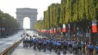 Le Tour de France 2020 s'achèvera sur les Champs-Élysées le 19 juillet.