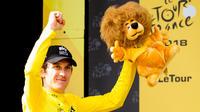 Vainqueur du Tour de France en 2018, Geraint Thomas avait empoché la somme de 500 000 euros.