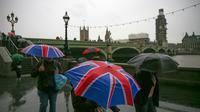 Les conséquences économiques désastreuses d'un Brexit sans accord [Daniel LEAL-OLIVAS / AFP]
