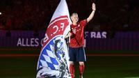 Le milieu de terrain du Bayern Munich fait ses adieux lors de la réception des Chicago Fire le 28 août 2018 [Christof STACHE / AFP]