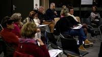 """Réunion à Montargis le 31 janvier 2019 pour le """"grand débat"""" [Christophe ARCHAMBAULT / AFP]"""