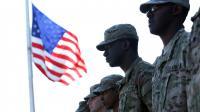 Des soldats américains le 16 octobre 2012 à Washington, aux Etats-Unis [Alex Wong / Getty Images/AFP/Archives]