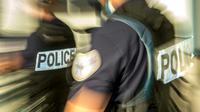 Des policiers à Calais, le 23 juin 2017 [PHILIPPE HUGUEN / AFP]