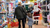 Courses de Noël le 15 décembre 2012 à Lille [Philippe Huguen / AFP/Archives]