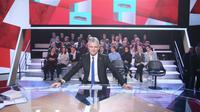 """Laurent Wauquiez, le 25 janvier 2018 dans """"L'Emission politique"""" sur France 2, à Saint-Cloud [CHRISTOPHE ARCHAMBAULT  / AFP]"""