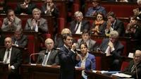Le Premier ministre Manuel Valls, le 25 novembre 2015 à l'Assemblée nationale à Paris [JACQUES DEMARTHON / AFP]