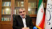 Abbas Ali Kadkhodaï, porte-parole du Conseil des Gardiens de la Constitution iranienne, parle durant un entretien avec l'AFP dans son bureau à Téhéran, le 30 novembre 2019 [str / afp/AFP]