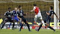 Le match aller entre Monaco et Lyon en Ligue 1, le 16 octobre 2015 au stade Louis-II [VALERY HACHE / AFP/Archives]