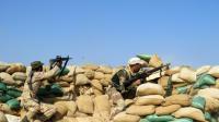 Les forces irakiennes à Tel Mushaihed, à l'est de Ramadi, le 16 décembre 2015 [- / AFP/Archives]