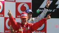 L'ex-pilote de Formule 1 Michael Schumacher, à Monza le 10 septembre 2006 [Damien Meyer / AFP/Archives]