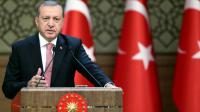 Le président turc Recep Tayyip Erdogan le 2 août 2016 à Istanbul [KAYHAN OZER / TURKEY'S PRESIDENTIAL PRESS SERVICE/AFP/Archives]