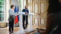 Edouard Philippe et Muriel Pénicaud le 18 juin 2019 [LUCAS BARIOULET / AFP]