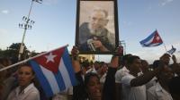 Des dizaines de milliers de Cubains ont rendu un ultime hommage à Fidel Castro, le 3 décembre 2016 à Santiago de Cuba [RODRIGO ARANGUA / AFP]