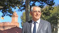 Jean-Marc Pujol (UMP) le 7 octobre 2013 dans la ville de Perpignan dont il est maire   [Raymond Roig / AFP/Archives]