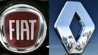 """Le gouvernement français met en garde contre toute """"précipitation"""" concernant le projet de fusion entre Fiat Chrysler et Renault [MARCO BERTORELLO, LOIC VENANCE / AFP/Archives]"""