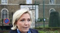 Marine Le Pen en janvier à Paris [JACQUES DEMARTHON / AFP]