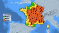 La vigilance orange canicule concerne désormais 65 départements en France.
