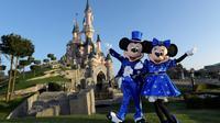 Les mascottes de Mickey et Minnie