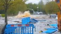 Grande-Bretagne : explosion d'une canalisation