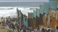 Une caravane de migrants est arrivée aux portes des Etats-Unis