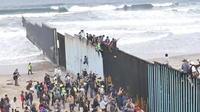 Mexique : la caravane de migrants bloquée à Tijuana, à la frontière américaine