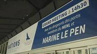 Marine Le Pen rassemble ses sympathisants dans le Sud