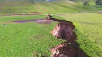 Nouvelle-Zélande: Un nouveau gouffre s'est ouvert