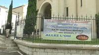 Tous les Marseillais derrière l'OM... même à la paroisse
