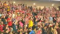 L?euphorie s?est emparée de Madrid après la victoire de l?Atlético
