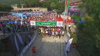 Marathon de la Grande Muraille de Chine : un Italien l'emporte en 4 heures