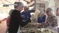 Ramadan : des repas distribués aux migrants