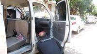 Un automobiliste a dû faire face à un passager un peu inattendu