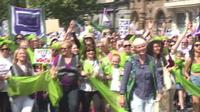 Les Britanniques fêtent les 100 ans du droit de vote des femmes