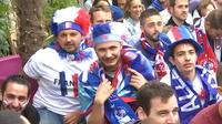 France - Australie : les supporters étaient au rendez-vous