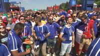 Coupe du monde : les Français exultent après la victoire des Bleus face à l'Australie